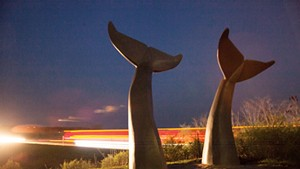 """Reverence"" sculpture by Jim Sardonis"