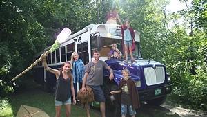 Inside the Magic Harry Potter Bus