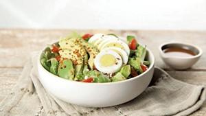 Salad at Eco Bean + Juice