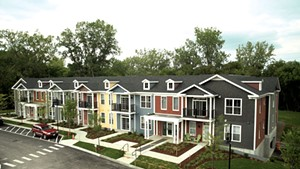 The first Bayberry Commons apartment to open