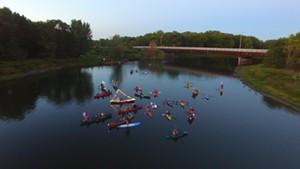 River of Light: Harvest Moon Winooski Paddle [SIV460]