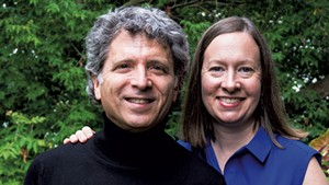 Ronald Braunstein and Caroline Whiddon