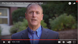 Courting Democrats, Republican Phil Scott Airs a Familiar Ad