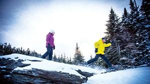 Snowshoeing at Smugglers' Notch Resort