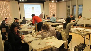 The Emerging Professionals Network design charrette at the BCA Center