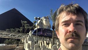 Paul Heintz at the Luxor Las Vegas