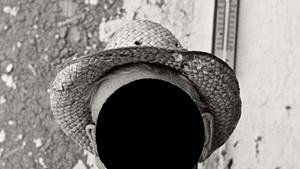 """Mr. Tronson, farmer near Wheelock, North Dakota, 1937,"" detail"
