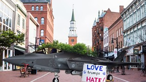 The Parmelee Post: Chittenden County to Become Sanctuary for F-35s