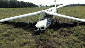 Plane crash on Savage Island in September