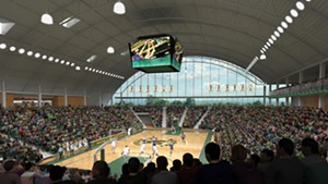 Renderings of the proposed event center