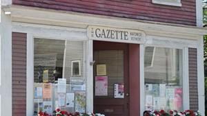 The Hardwick Gazette office