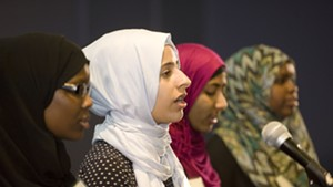 Muslim Girls Making Change slam poets