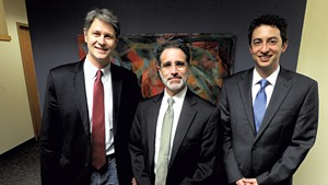 Left to right: Christopher Curtis, Josh Diamond and David Scherr