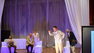 Atmosphere Theater Troupe performing The Cherry Orchard in Yaroslavl
