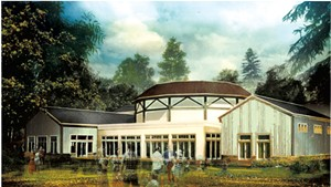 Rendering of Highland Center for the Arts