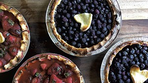 Pies at Pebble Brook Farm
