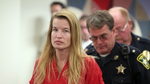 Jody Herring, 40, during an arraignment in Washington Superior Court