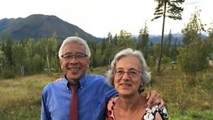 Dr. Harry Chen and Anne Lezak