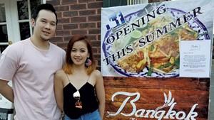 Bobby Chompupong and Kanni Sangkhanond of Bangkok Bistro