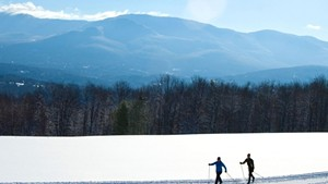Cross-country skiing at Trapp Family Lodge