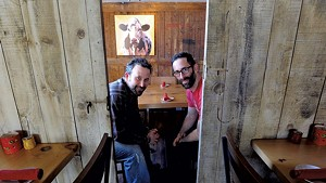 Co-owners Ari and Noah Fishman at ZenBarn