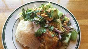 Chili-lime chicken plate