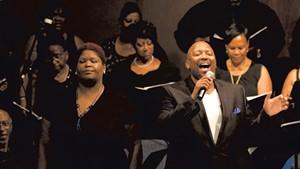 Singers in Antigone in Ferguson