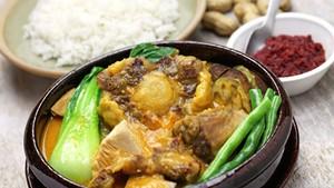Kare-kare, Filipino oxtail stew