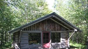 Merck Forest and Farmland Center cabin