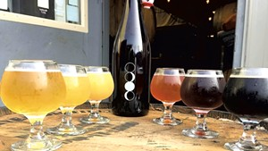 Beers at Four Quarters Brewing
