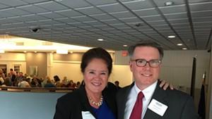 Deb Billado and Mike Donohue