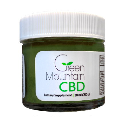 Edible CBD Salve - GREEN MOUNTAIN CBD