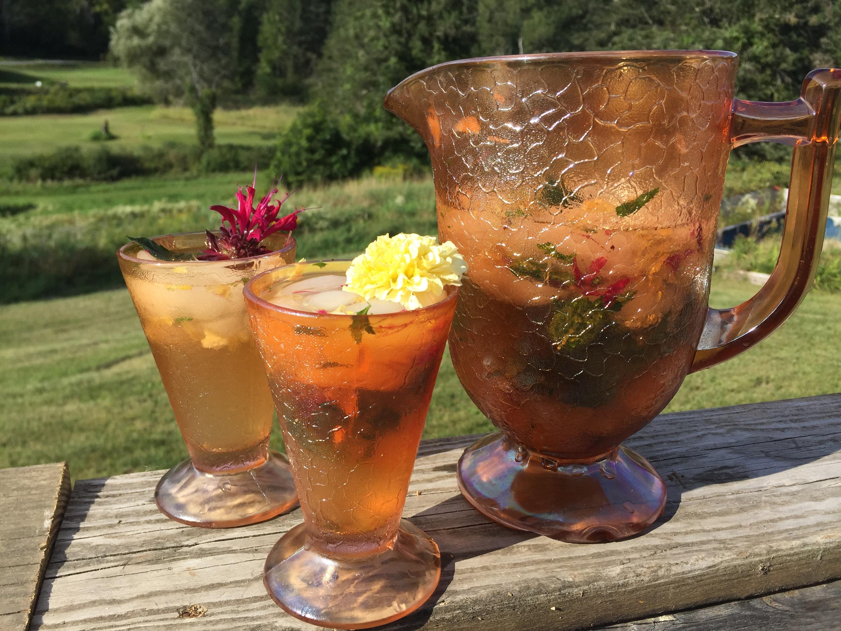 Farmers Market Kitchen: Melon-Marigold Cream Cooler | Bite Club