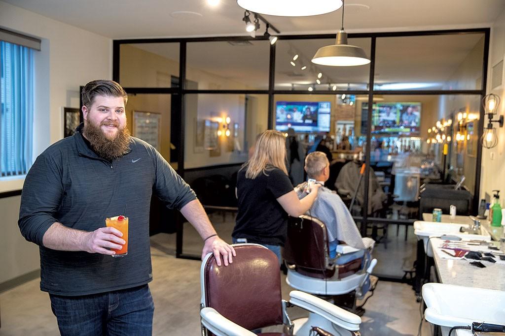 It happened in the barbershop