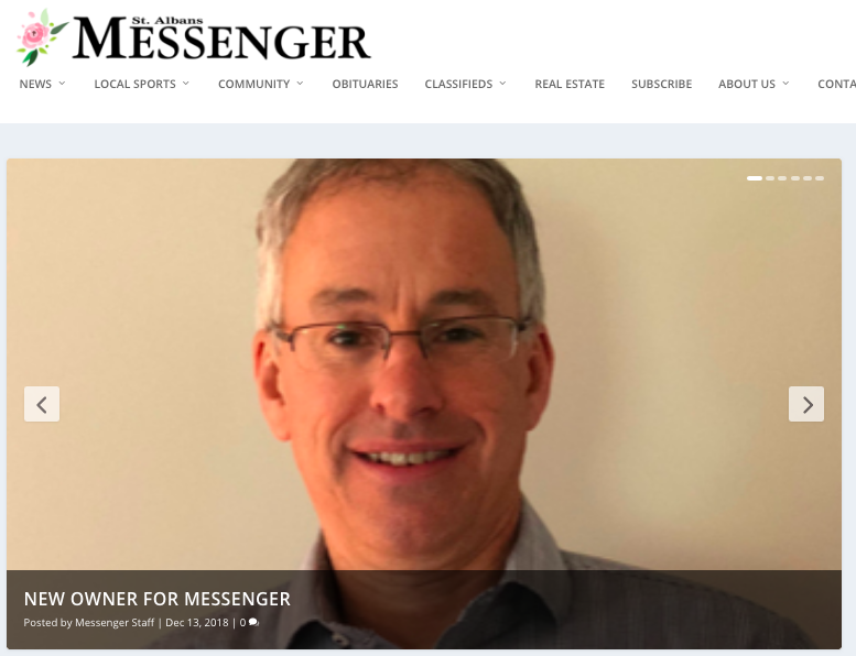 Media Note: Lynns Sell the St  Albans Messenger | Off Message