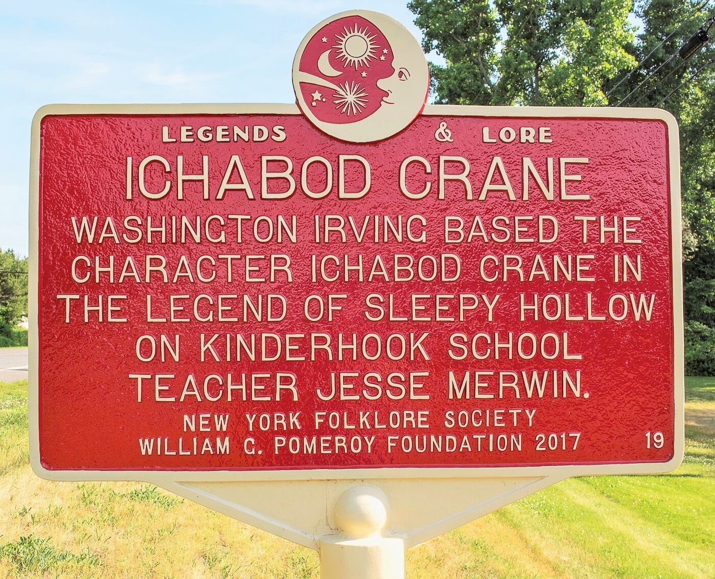 cheaper a7008 c9f00 click to enlarge A Legends   Lore marker in New York state - COURTESY OF  THE VERMONT FOLKLIFE CENTER