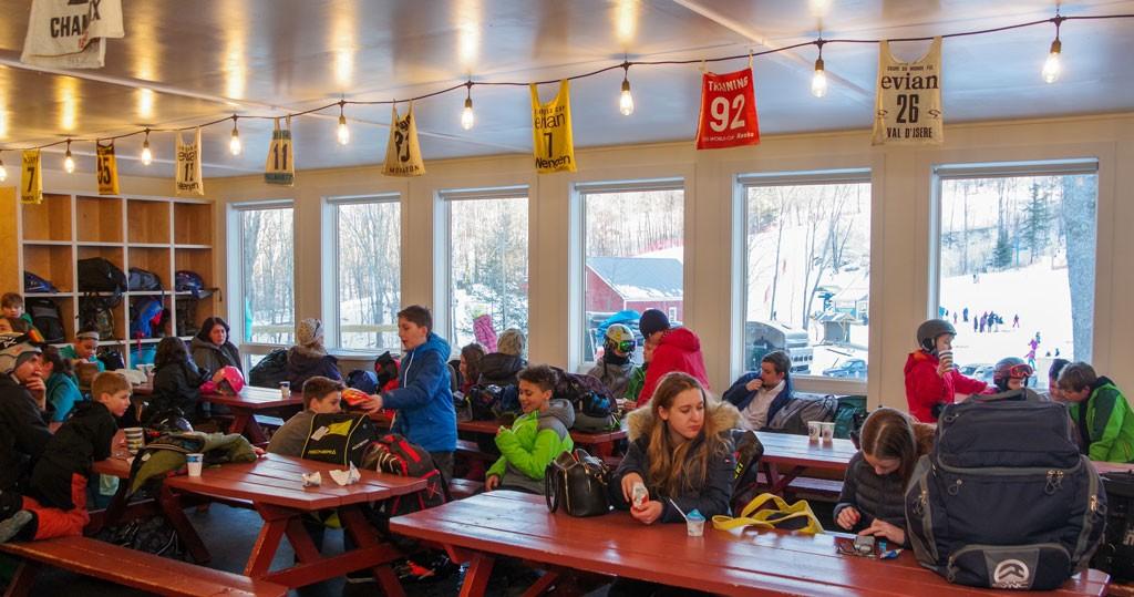 Cochran's Ski Area lodge - STEPHEN MEASE