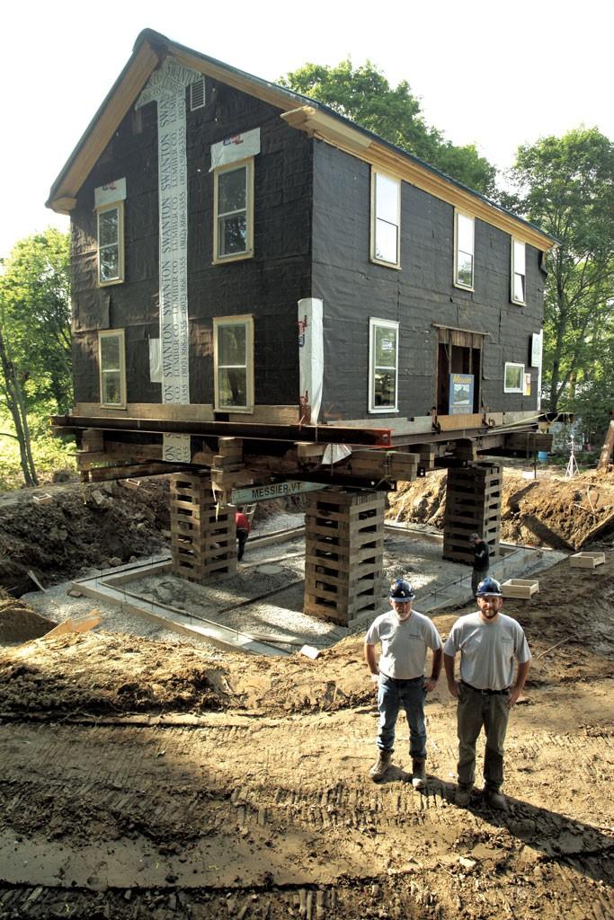Work Jason Messier Messier House Moving Construction