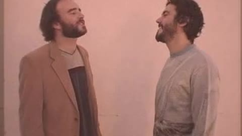 """J.D. Ryznar (left), as Michael McDonald, and Hunter Stair, as Kenny Loggins, belting out some smooth tunes in """"Yacht Rock"""" - CHANNEL101.COM"""