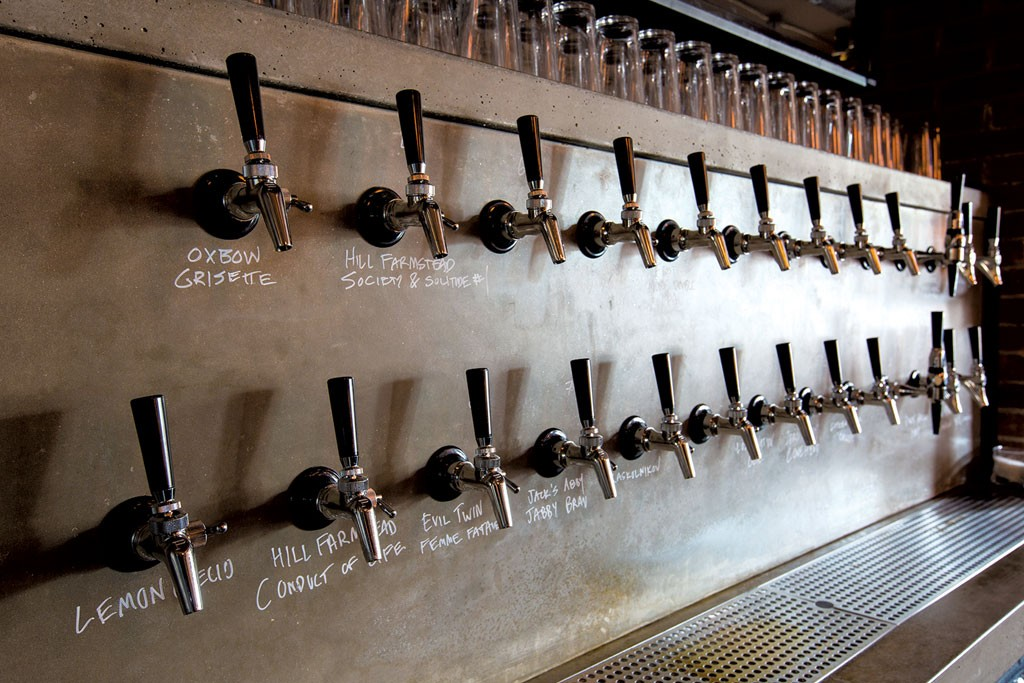 Draft lines at Hatchet Tap & Table - SHEM ROOSE