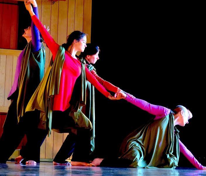 Dancers rehearse Sarabande - COURTESY OF PEG BRIGHTMAN