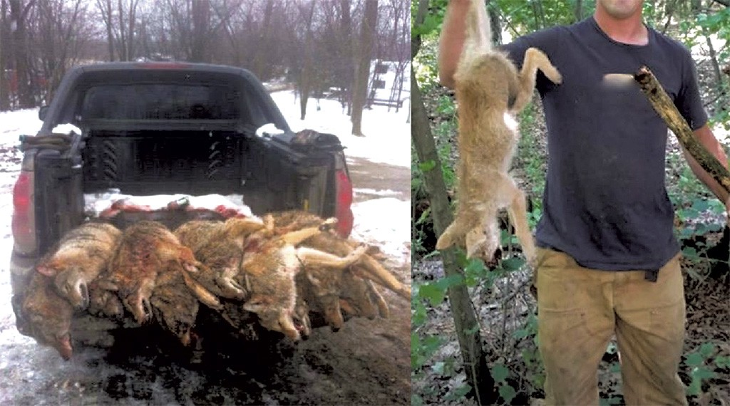 These photos were among those that activists found on Facebook and submitted to Vermont legislators last year.