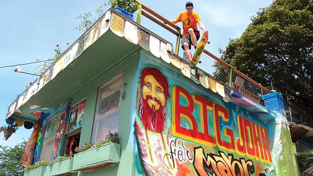 Ridin' High Skate Shop - FILE: MATTHEW THORSEN