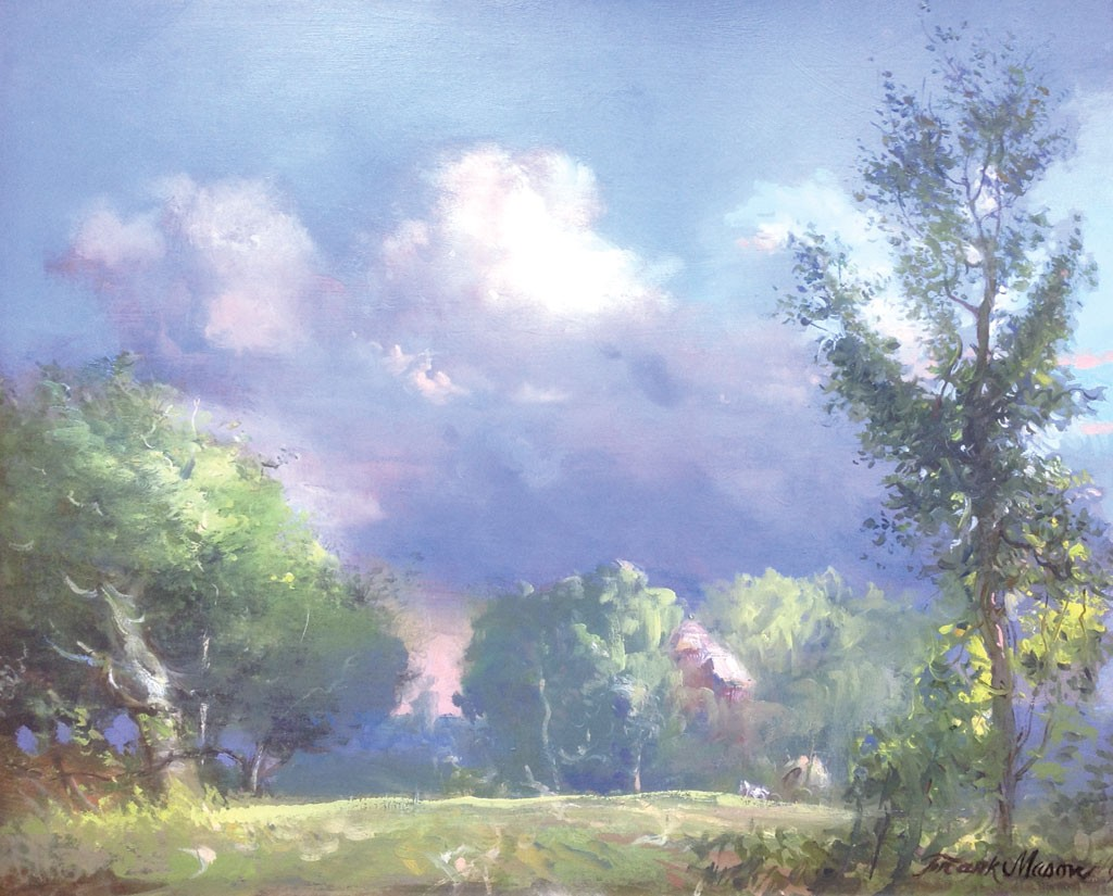 """Big Cloud, Vermont Fantasy,"" Frank Mason"