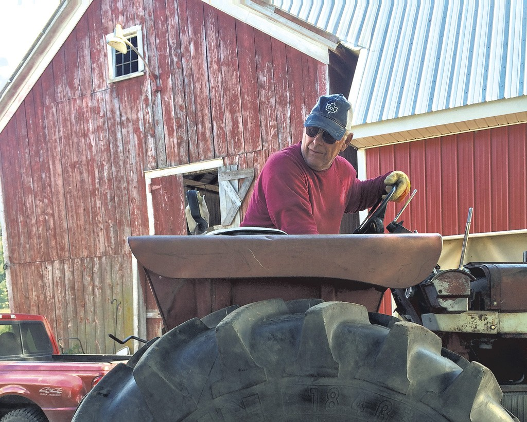 Sen. Norm McAllister at his Highgate farm - MARK DAVIS