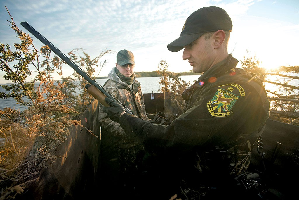 Rules of the game vermont wardens police the wilderness for Fish and game warden