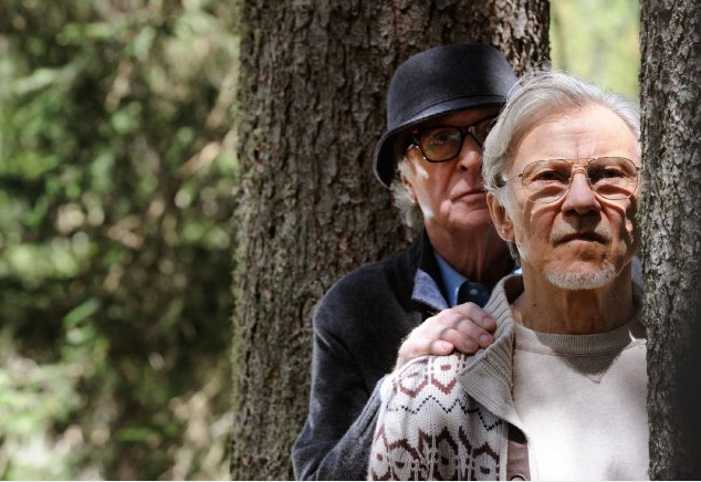 Caine and Keitel get up to mischief on the grounds of an exclusive Swiss spa. - FOX SEARCHLIGHT