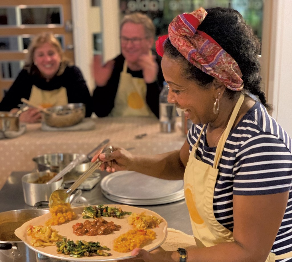 A Taste of Abyssinia Is Catering Small Dinner Parties