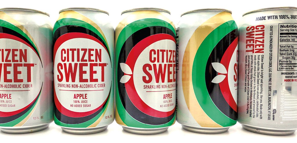 Citizen Sweet nonalcoholic sparkling cider - COURTESY OF CITIZEN CIDER