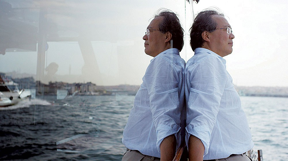 Yo-Yo Ma in The Music of Strangers - COURTESY OF ARCHITECTURE + DESIGN FILM SERIES